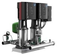 Grundfos Hydro Multi-E Vertical Twin Pump Booster Sets 3PH