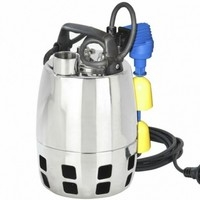 Calpeda GXVM Automatic Submersible Pump, Magnetic Float Switch, 10m Cable, QM Control Box (110V)