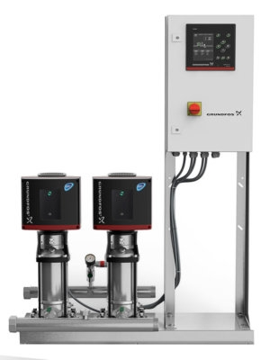 Grundfos Hydro MPC-E Vertical Twin Pump Booster Sets 1PH