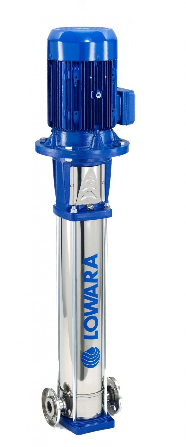 Lowara 10SV 'F' Flanged Vertical Multistage Pump