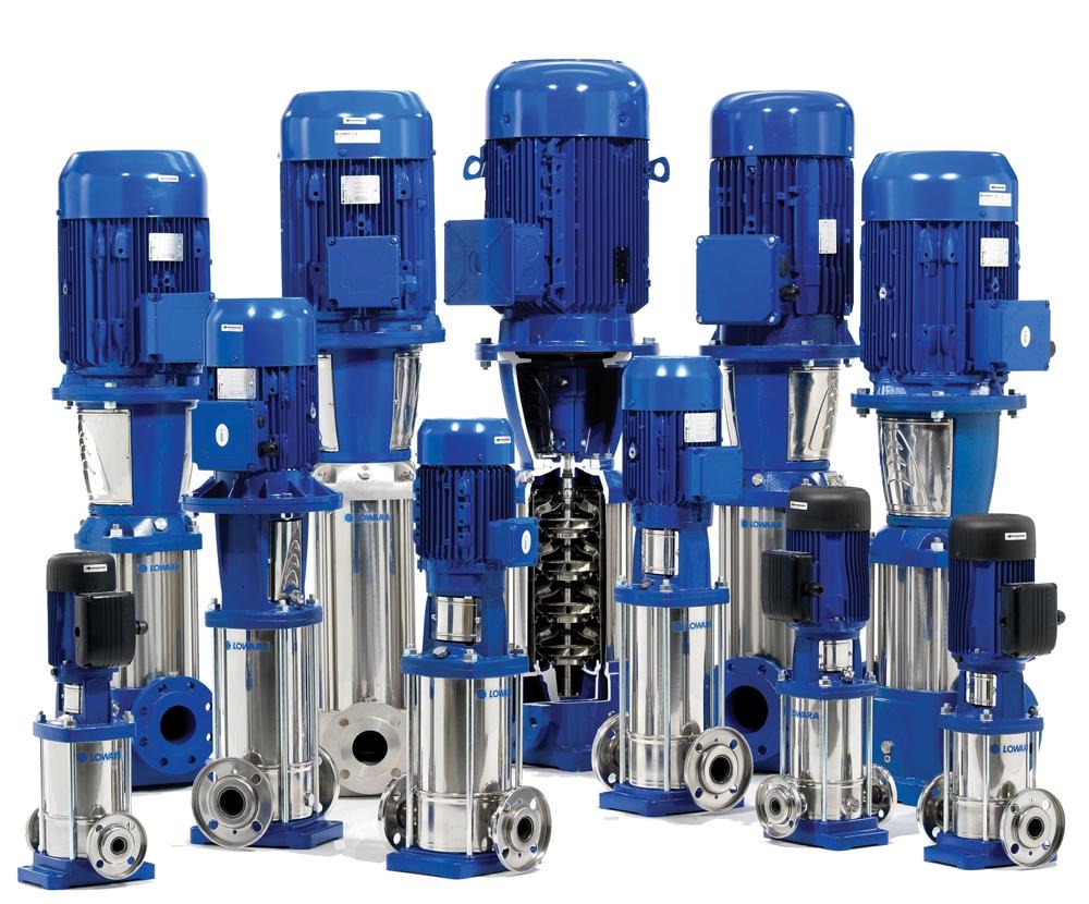 Lowara 15SV Vertical Multistage Pumps