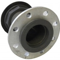 PVC Back-Nut Type Flanged Tank Connector
